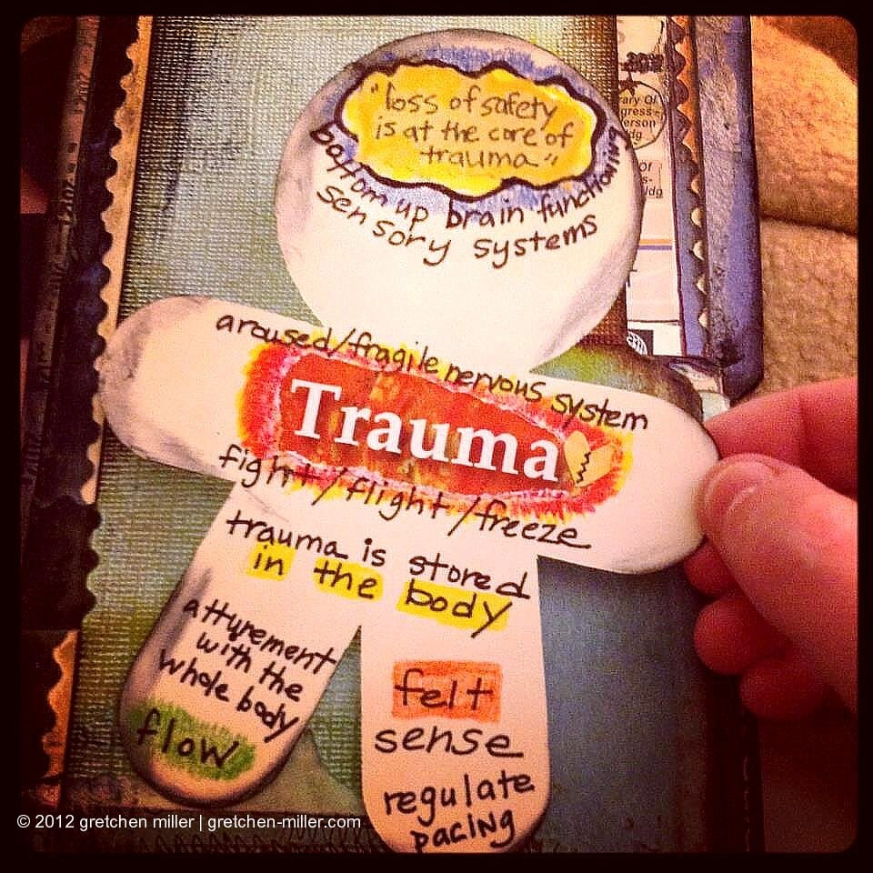 trauma visual notes