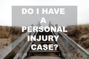 do i have a personal injury claim