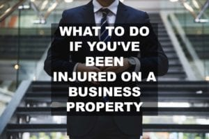 injured on business property